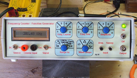 how to build a function generator