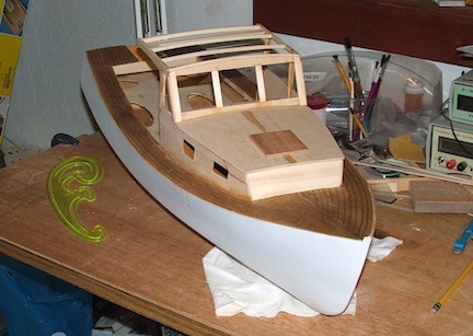Building Lobster Boat