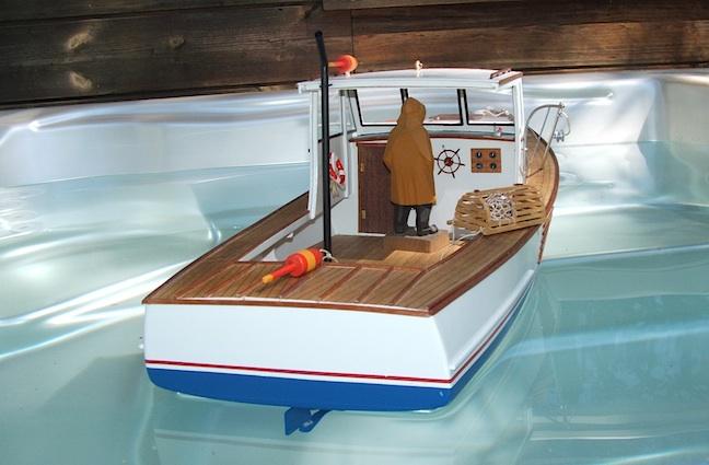 Building Lobster Boat